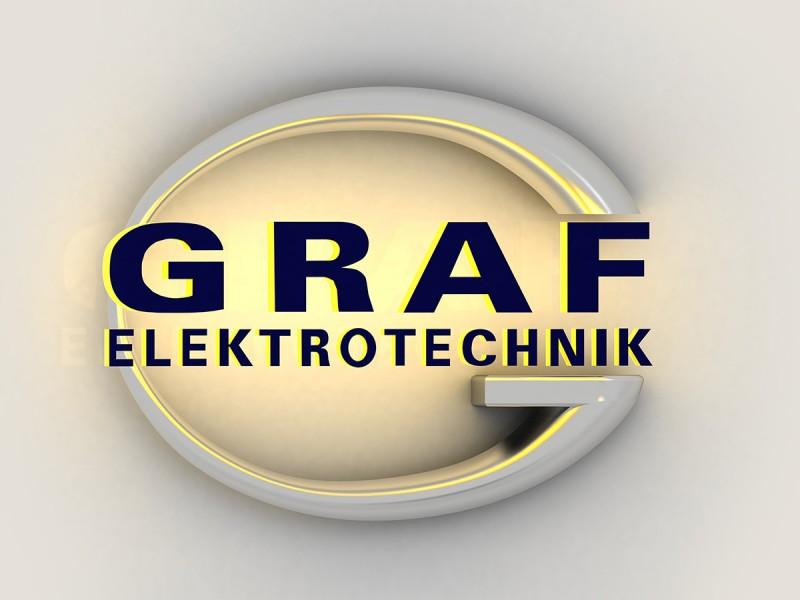 3D Logo Graf Elektrotechnik