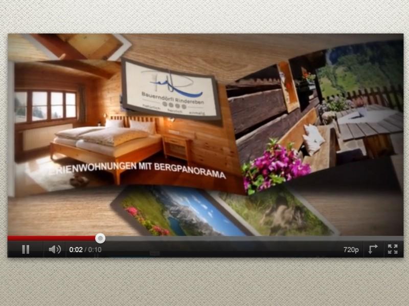 Animation Hotelprospekt Sommerurlaub